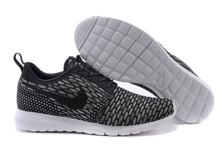 hot sales c0b55 9eb68 Buy Mens Nike Flyknit Roshe Run Black And Gray Wholesale Cheap To Buy from  Reliable Mens Nike Flyknit Roshe Run Black And Gray Wholesale Cheap To Buy  ...