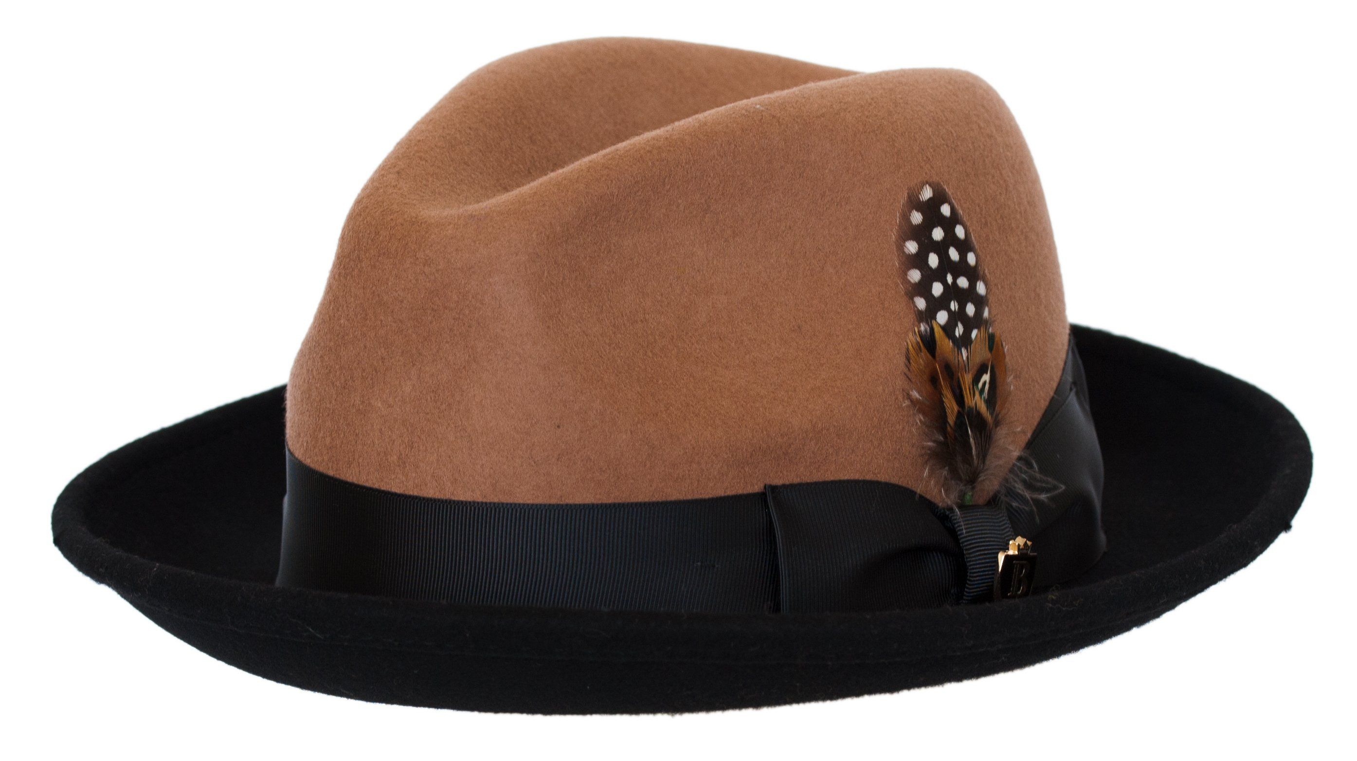 9aa992132d418 Untouchable Wool Fedora with Satin Hat Band by Bruno Capelo in 2019 ...