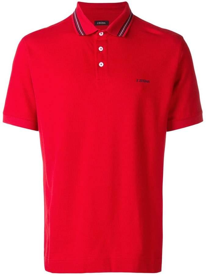 51d491a073574 Ermenegildo Zegna piqué polo shirt | Products | Polo shirt, Pique ...
