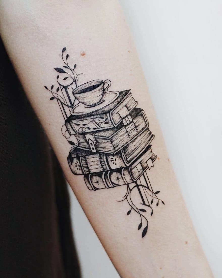 Book Tattoo Broer Of Zus Tatoeages Tatoeage Ideeën