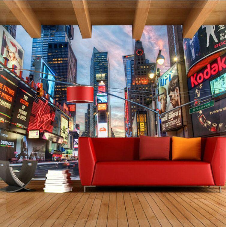 Grande papel de parede mural de urbano moderno bar sala de KTV personalizado papel de parede personalidade elementos de fator de cobre(China (Mainland))
