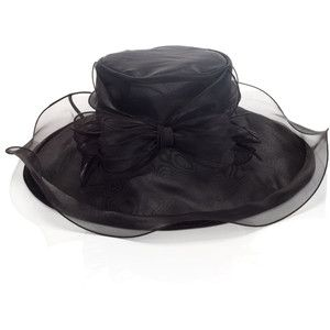 Accessorize Organza Hat with Skirt