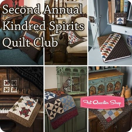 Second Annual Kindred Spirits Quilt Club Yellow Creek Quilt ... : kindred spirits quilt shop - Adamdwight.com