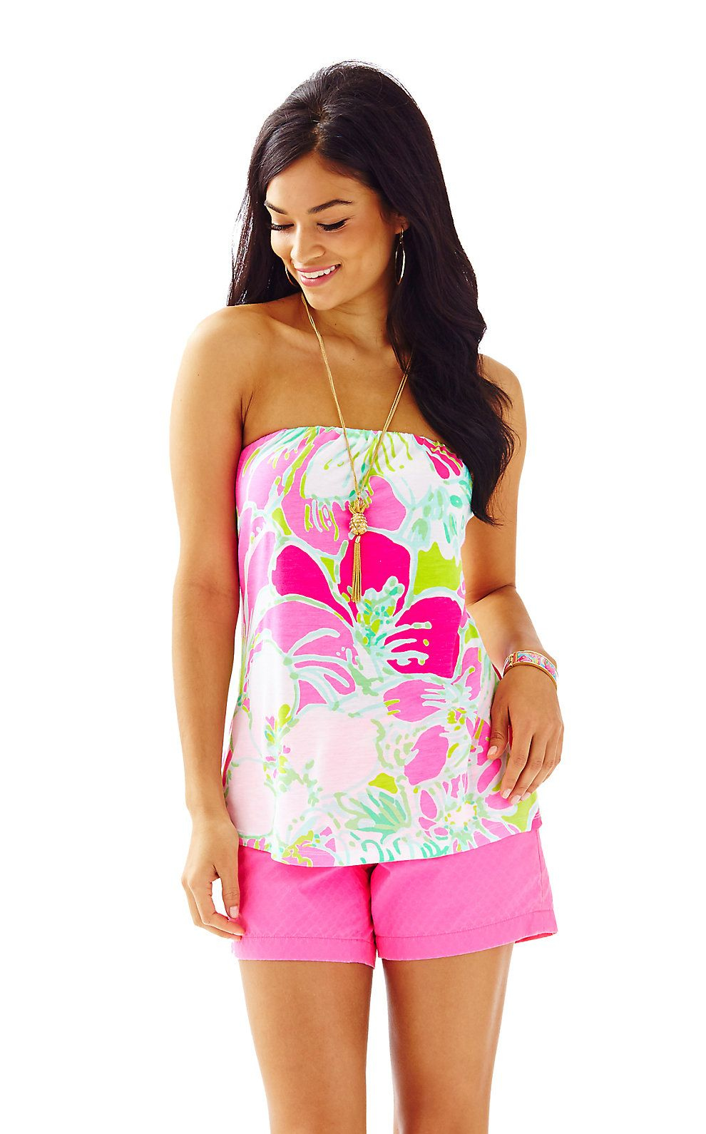 79fc176187 Tyra Strapless Printed Tube Top. Find this Pin and more on Lilly Pulitzer  New ...