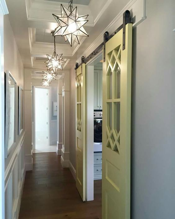 header  used for barn door hardware installation/support.amazing ceiling detail wainscoting doors etc. & 1x6