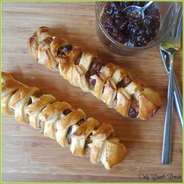 Vegetarian Pastry Plaits, perfect as a meatfree choice this Christmas