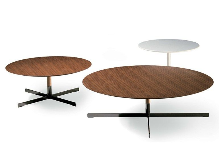 Bob Wooden Coffee Table By Poltrona Frau Coffee Table Round