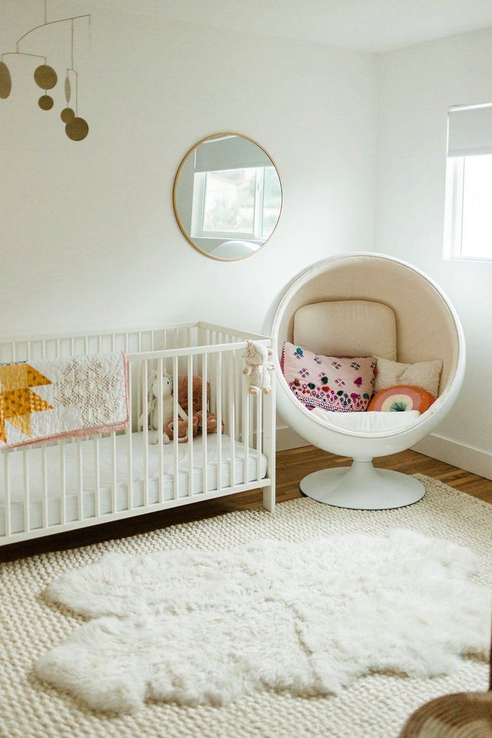 The Airy Open Home Of A Graphic Designer And Creative Director Baby Nursery Design Room Decor Inspiration