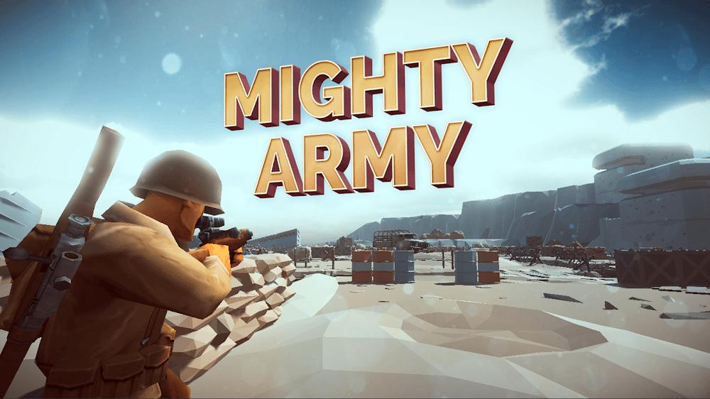 Download Mighty Army World War 2 MOD APK v1.0.9