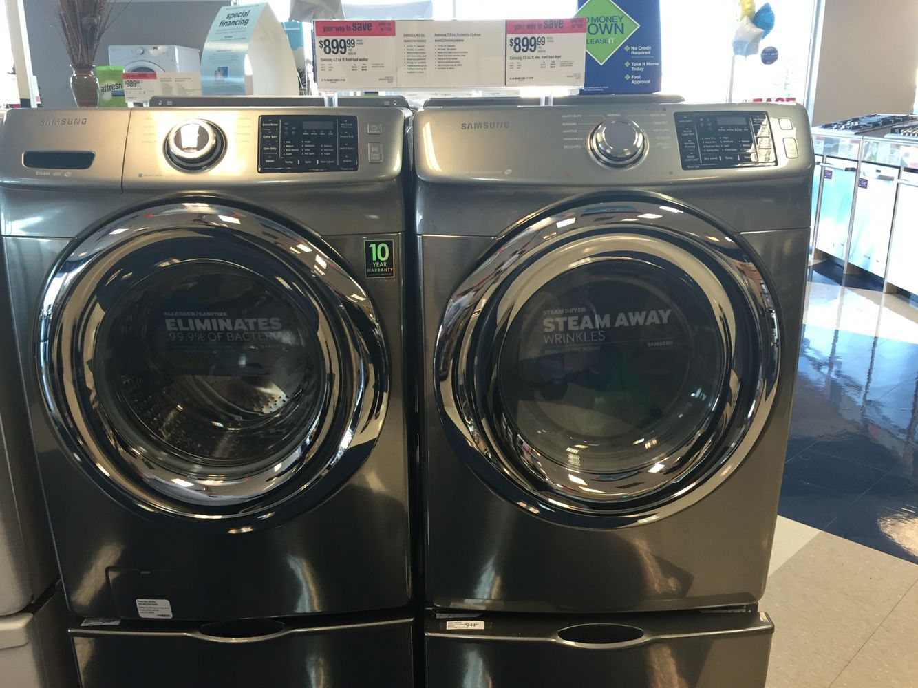 Sears Samsung washer dryer | Appliances | Pinterest