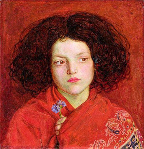 The Irish Girl  -   Brown, Ford Madox 1860   English  1821-1893