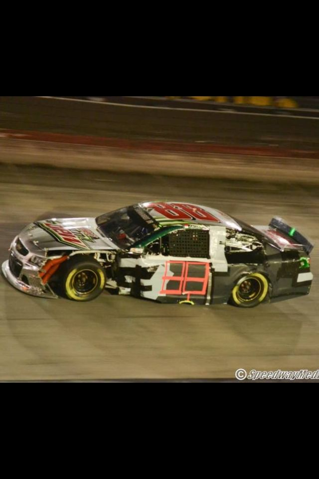 Dale Jr Bristol Night Race 2014 Racing Jeff Gordon Nascar