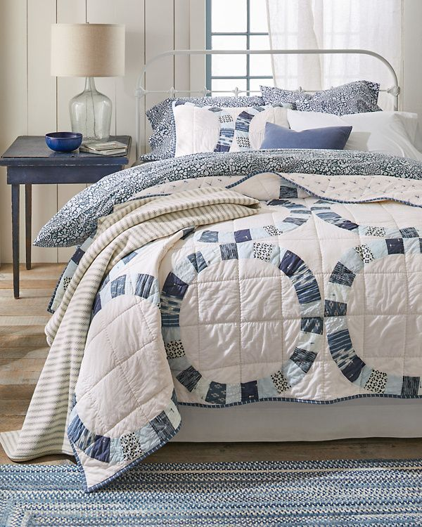 Hana Quilt and Sham Hill (With images) Bedding