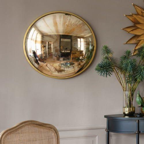 Round Aged Effect Convex Mirror D71 Convex mirror