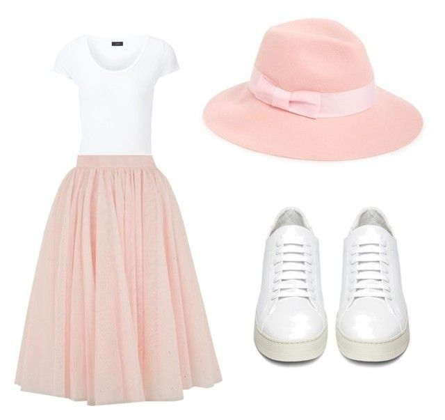 """""""Untitled #392"""" by julie-201 on Polyvore featuring August Hat, Joseph, Ted Baker, Off-White, women's clothing, women, female, woman, misses and juniors"""