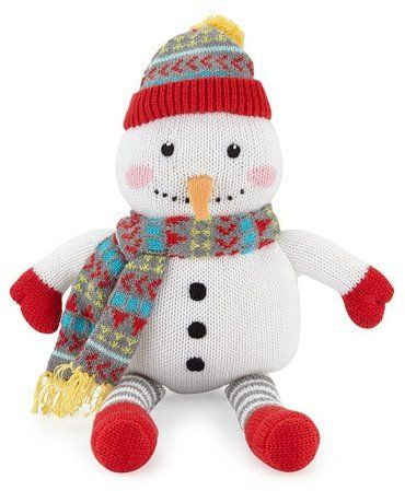 Zubels Knit Snowman Doll, White Was $33 Now $14.85 At Neiman ...
