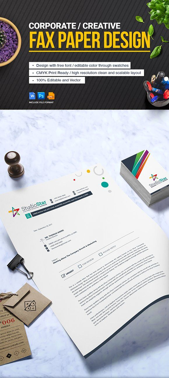 Fax Paper Cover Sheet Paper cover, Business company and Letterhead