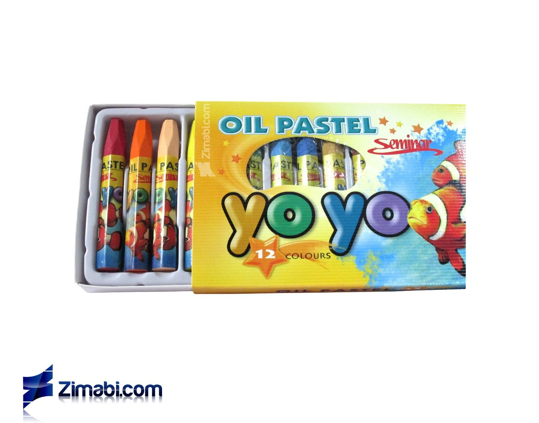 Design Art Graphic Supplies Pastel Yoyo Oil 12color Pastel