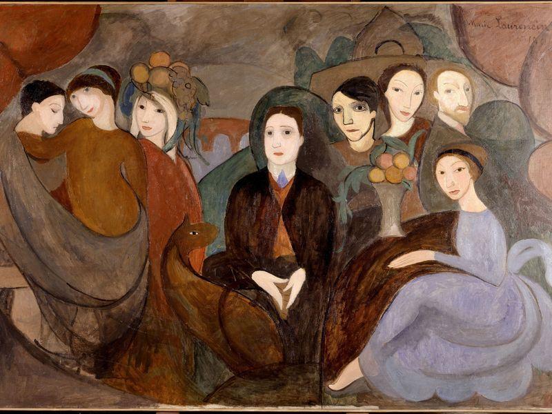 Marie Laurencin Apollinaire Et Ses Amis Exposition Matisse