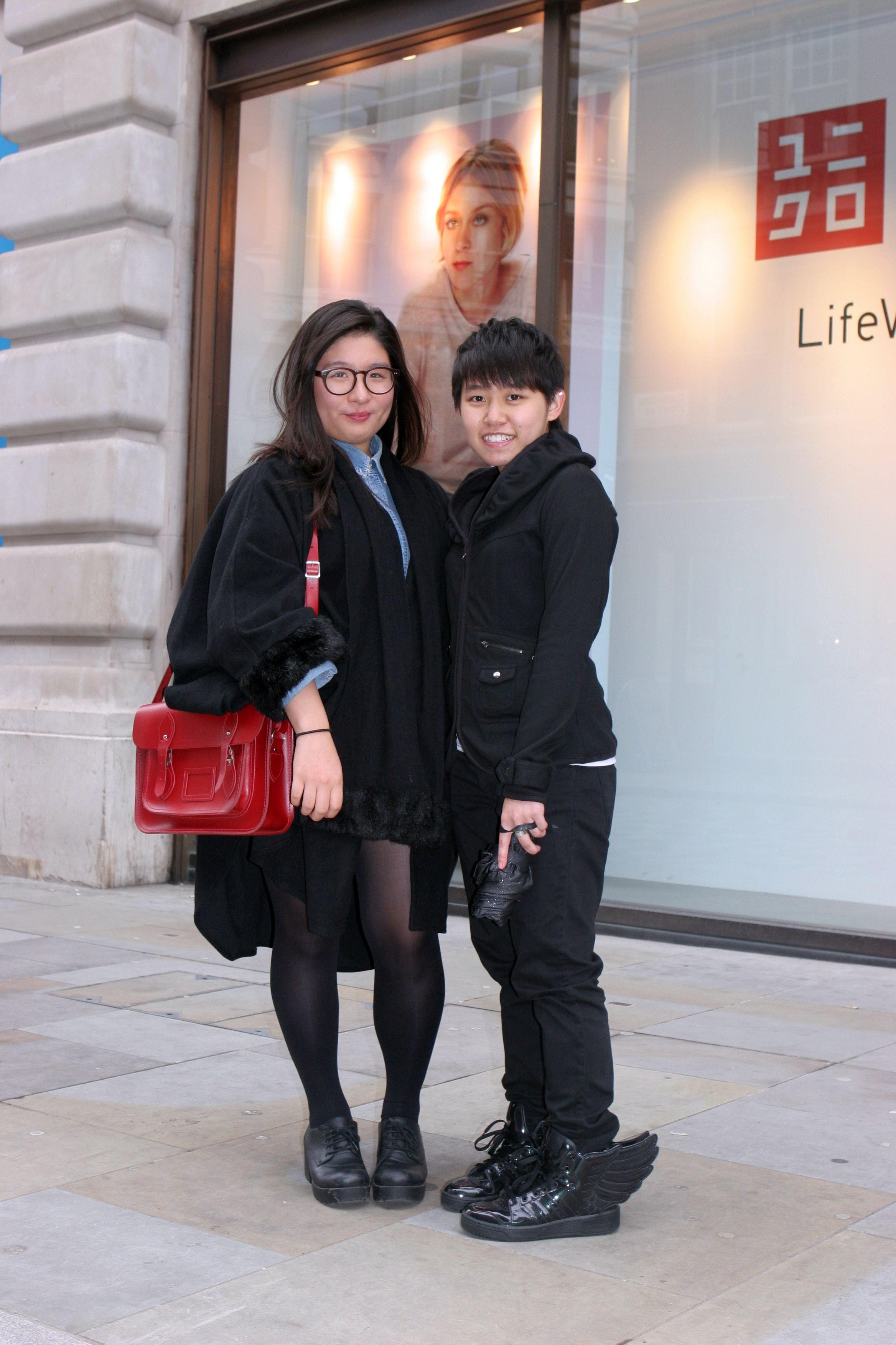 Seojung and Bonnie #RegentStreetStyle