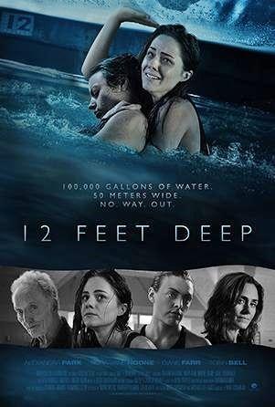 12 FEET DEEP (2016) Tobin Bell | horror, sci-fi, thriller