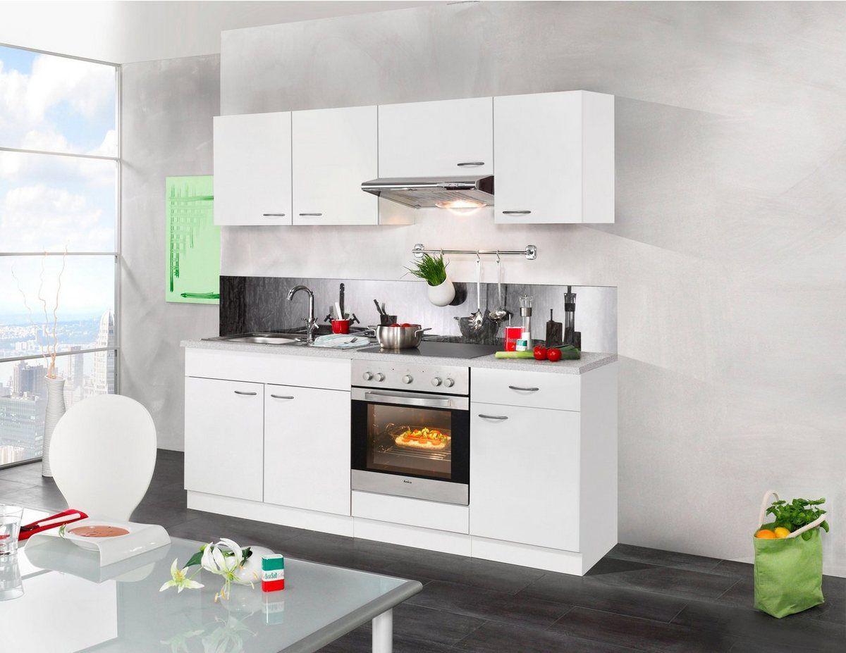 WIHO KÜCHEN Küchenzeile mit EGeräten »Valencia«, Breite