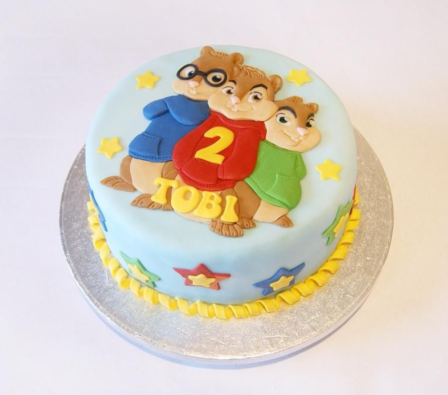 Alvin And The Chipmunks Cake Cake By Ayeta With Images Alvin