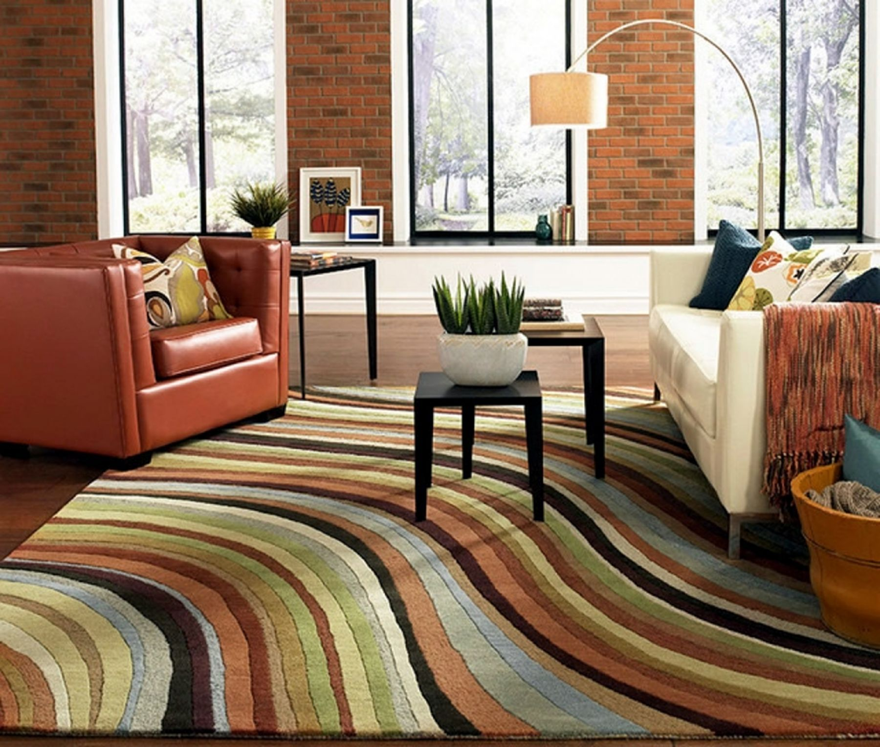 15 Amazing Living Room Carpet Ideas For the Comfort of ...