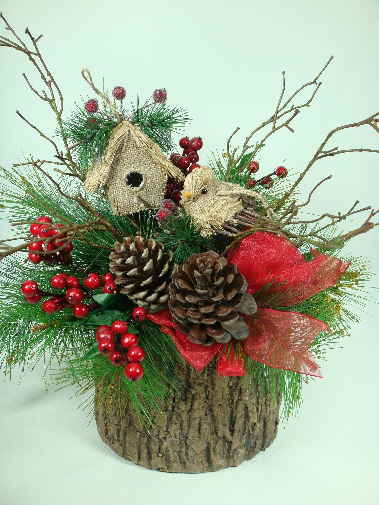 Un peque o jardin navide o en nuestro hogar adornos for Deco jardines pequenos