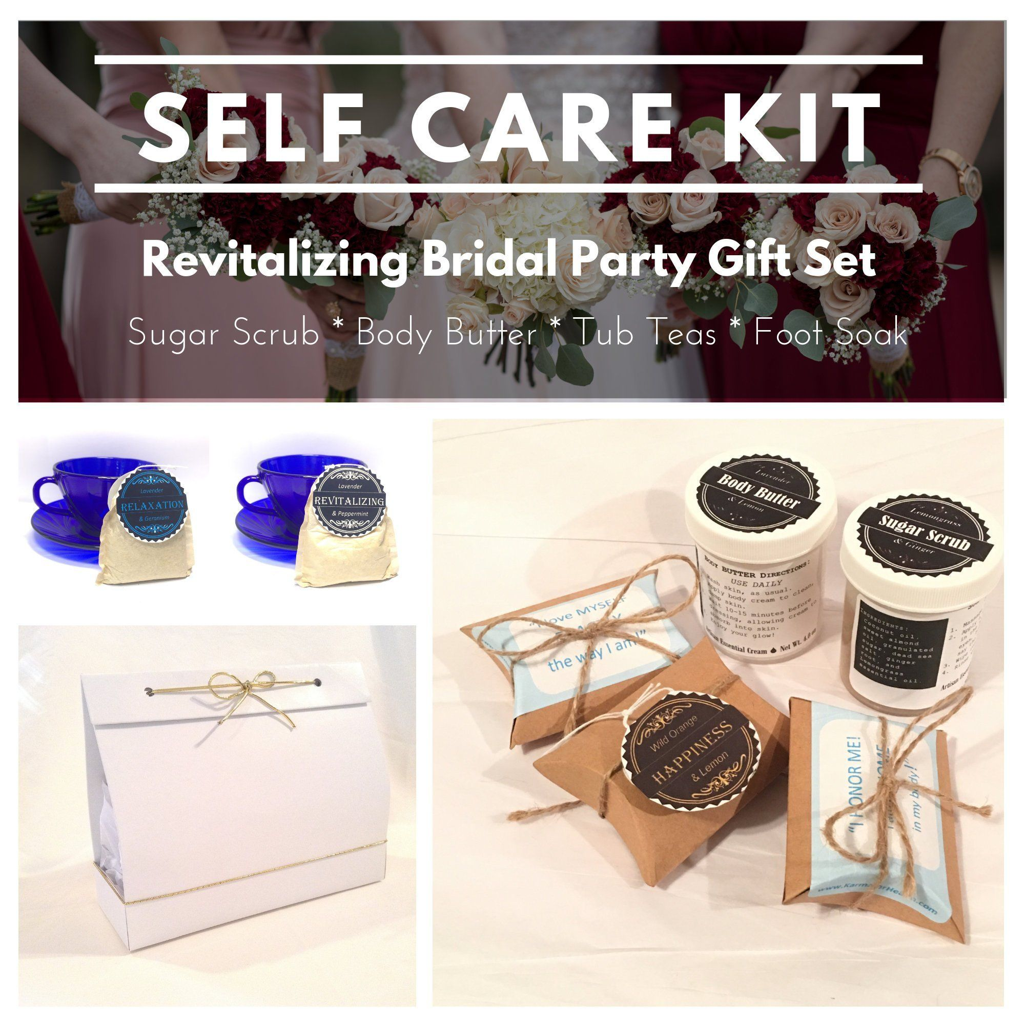 Bridal Party Gift Set Self Care Package for Women Party