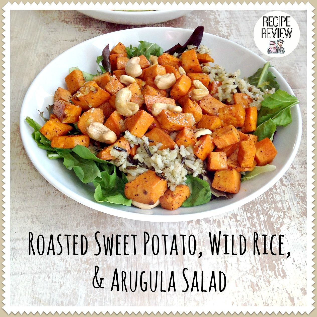 Everyday is a Holiday: Recipe Review: Roasted Sweet Potato, Wild Rice, and Arugula Salad ...spoiler... it is DELICIOUS! The lemon dressing is amazing!