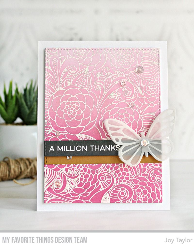 Essential Sentiments, Floral Fantasy Background, Blueprints