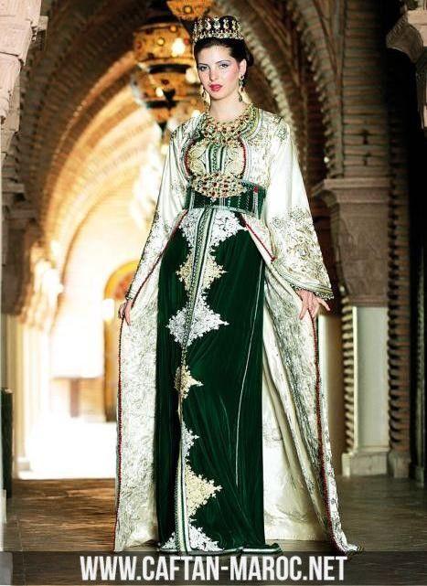 Le célèbre Caftan mariée henné, caftan lila 7enna, caftan de mariage.Caftan &ZP_09