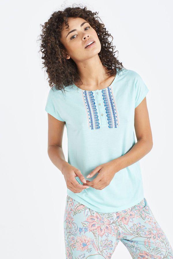 18c81fb8f83d9 Womensecret Pyjama imprimé à l esprit paisley vert