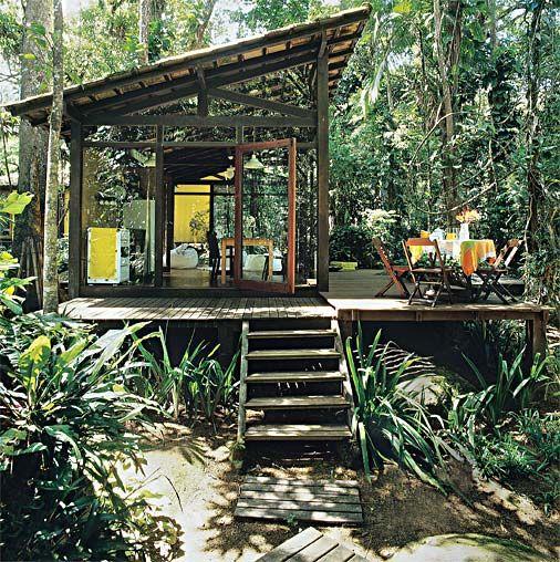 Casa da Zu: Chalés -
