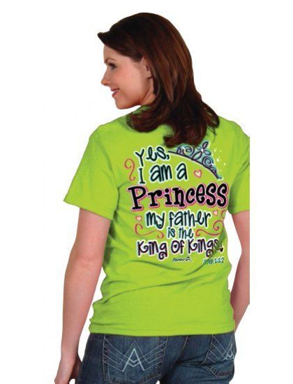 Yes I am a Princess, My Father is the King - T-Shirt - JTbliss
