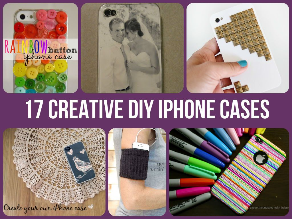 17 Creative DIY iPhone Cases