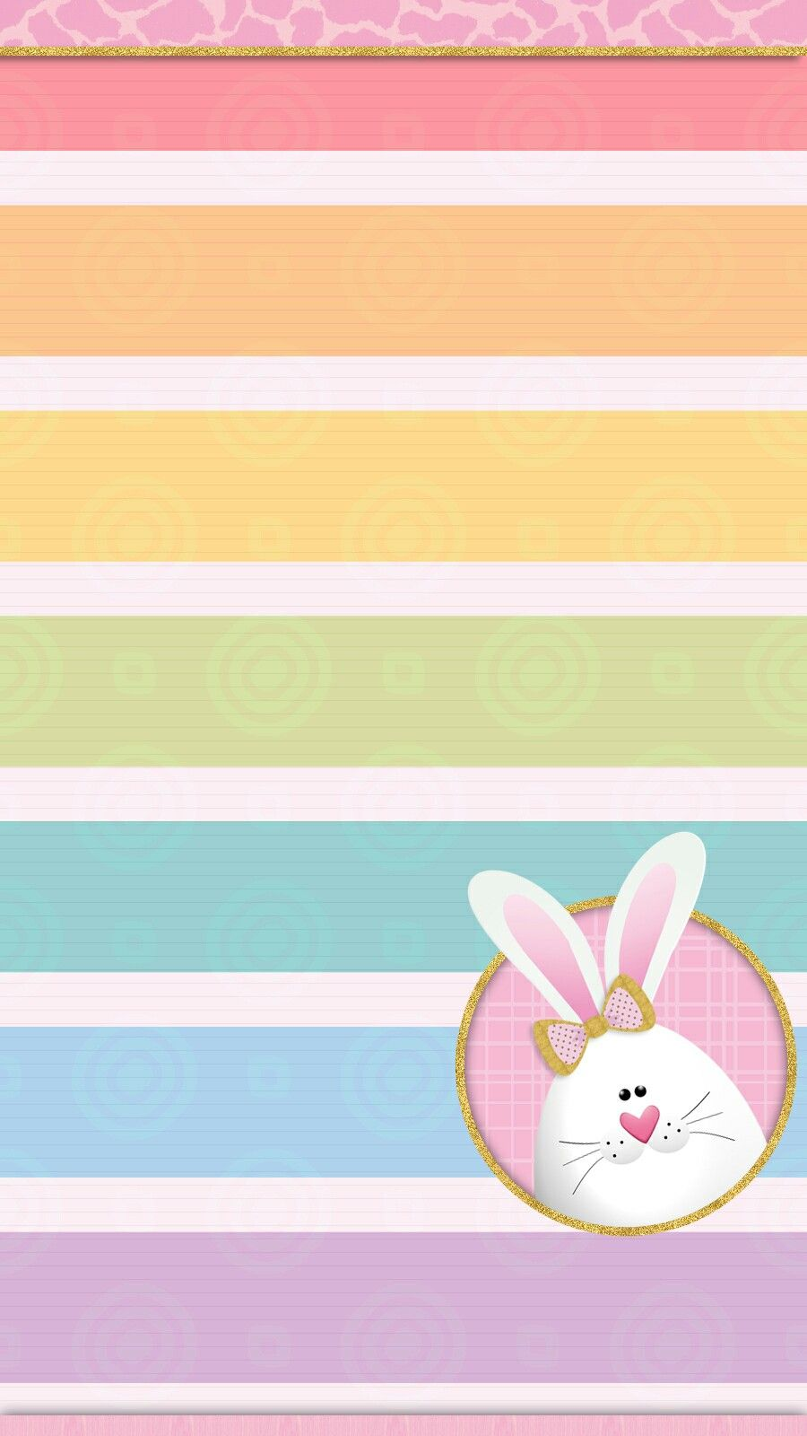 Easter bunny wallpaper iphone Cute walls by me