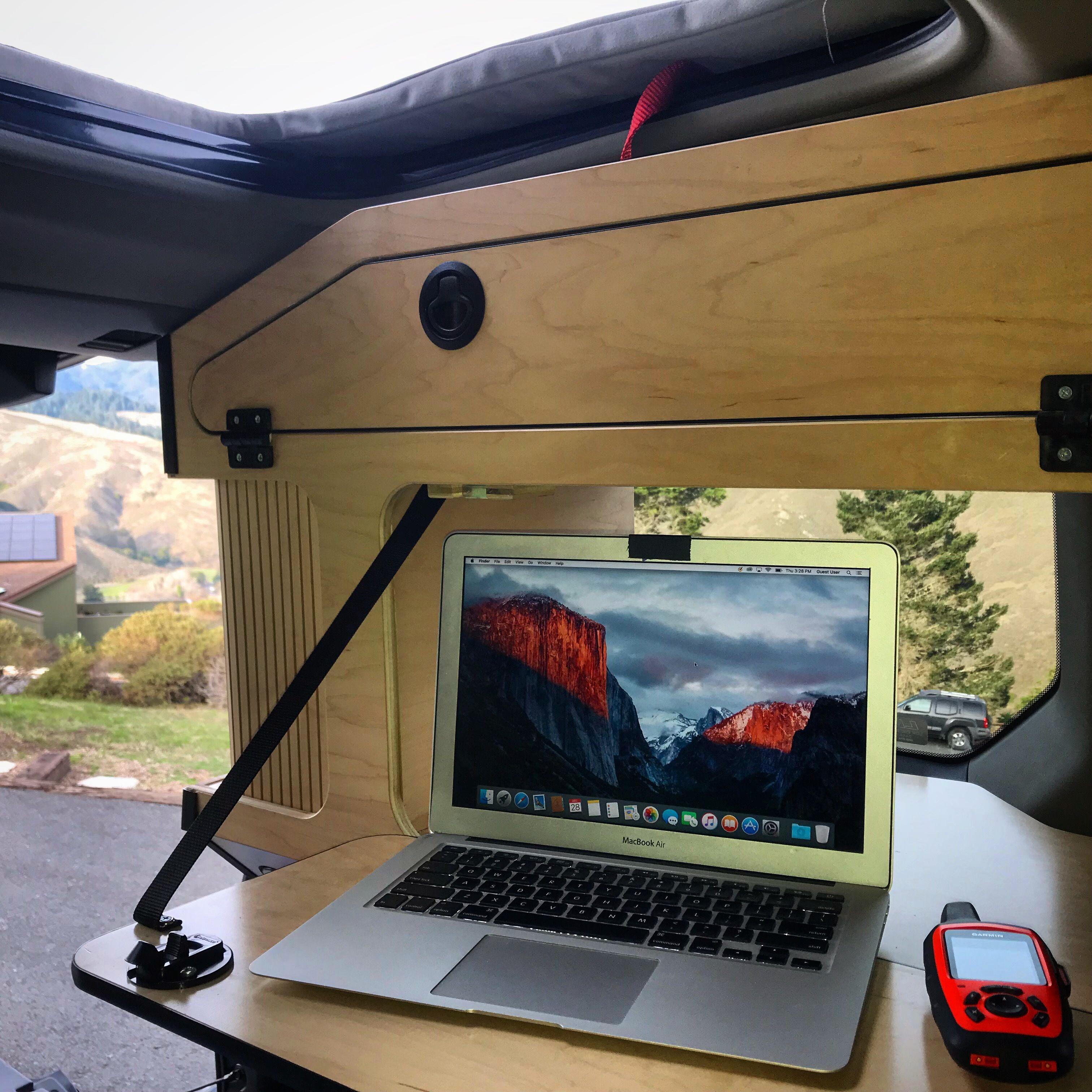 Honda Element Micro Camper System components u Addons