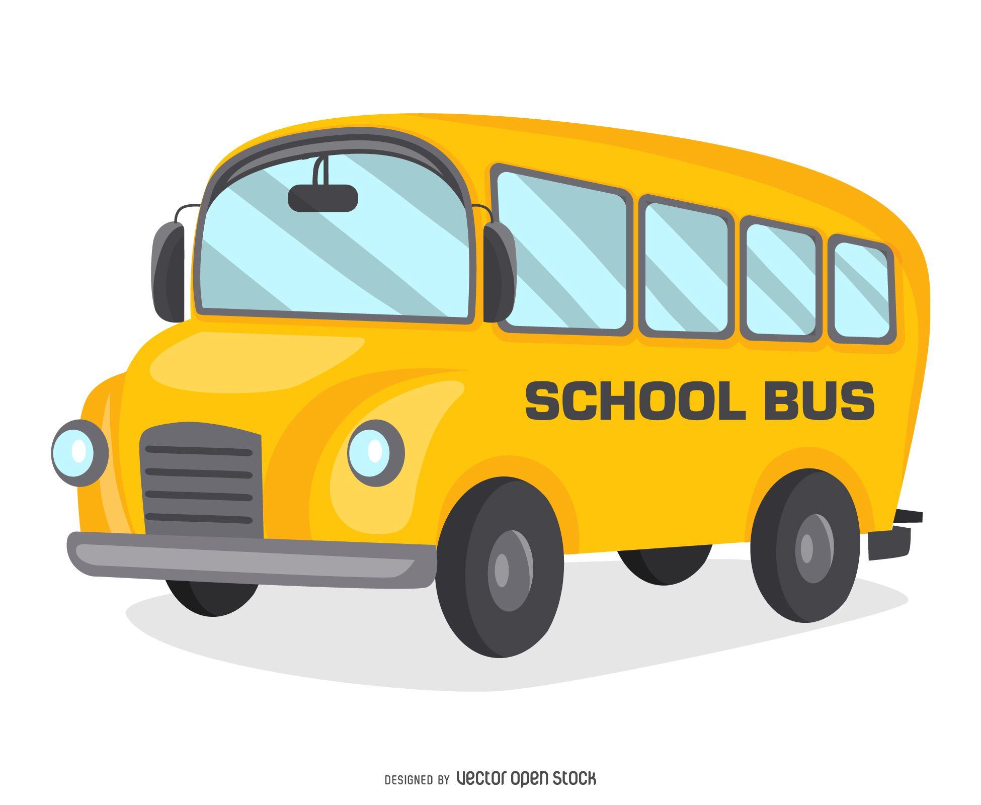 Bus Vector Graphics To Download School Bus Bus Cartoon Free