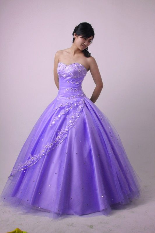 Sweet 16 Dresses Purple Elegant Dress In Color