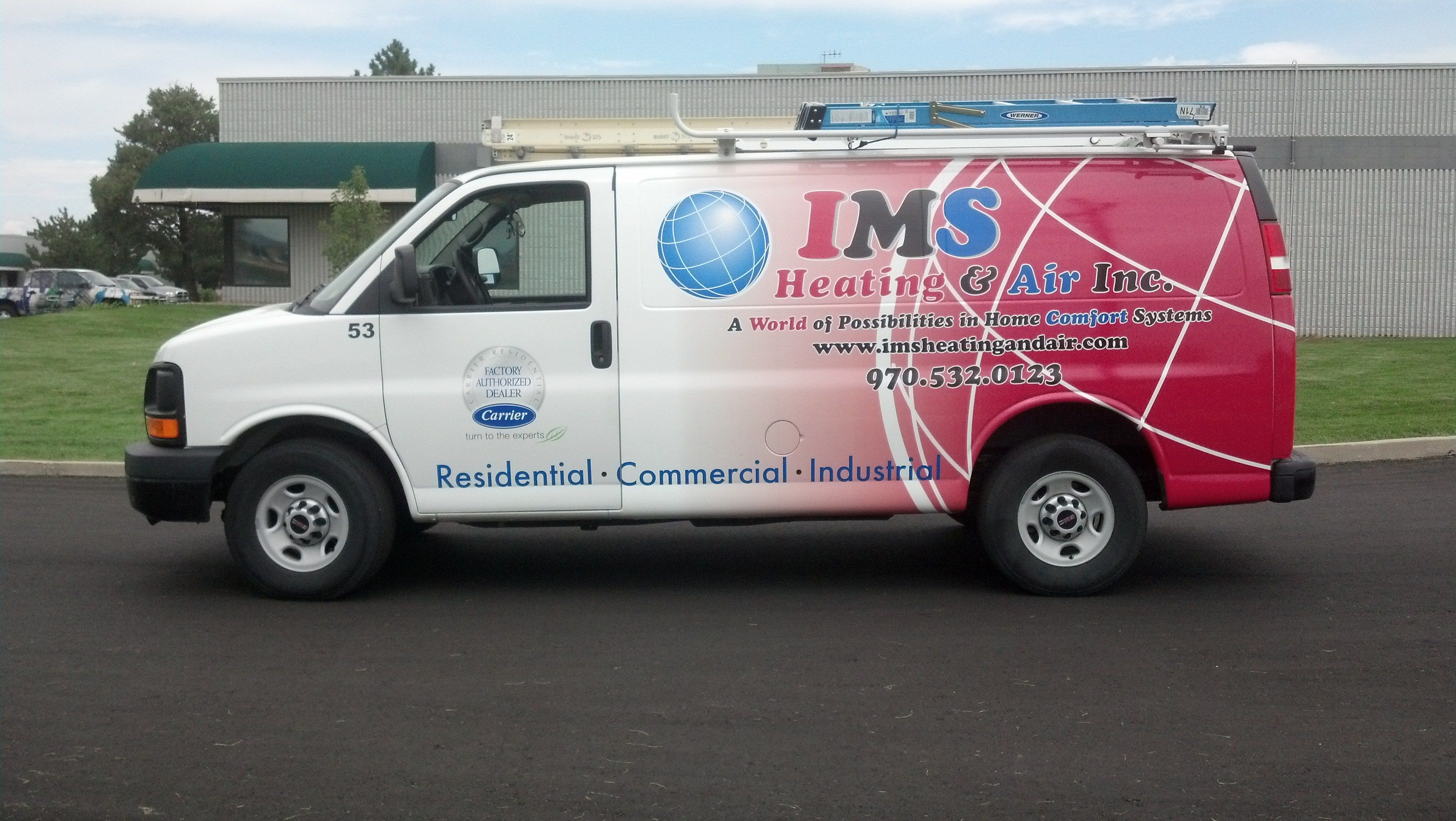 Full van wrap vehicle wraps