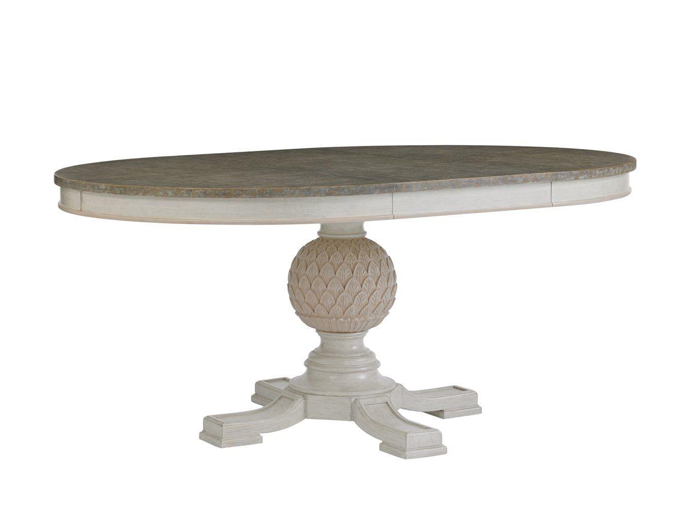 Preserve Artichoke Pedestal Table