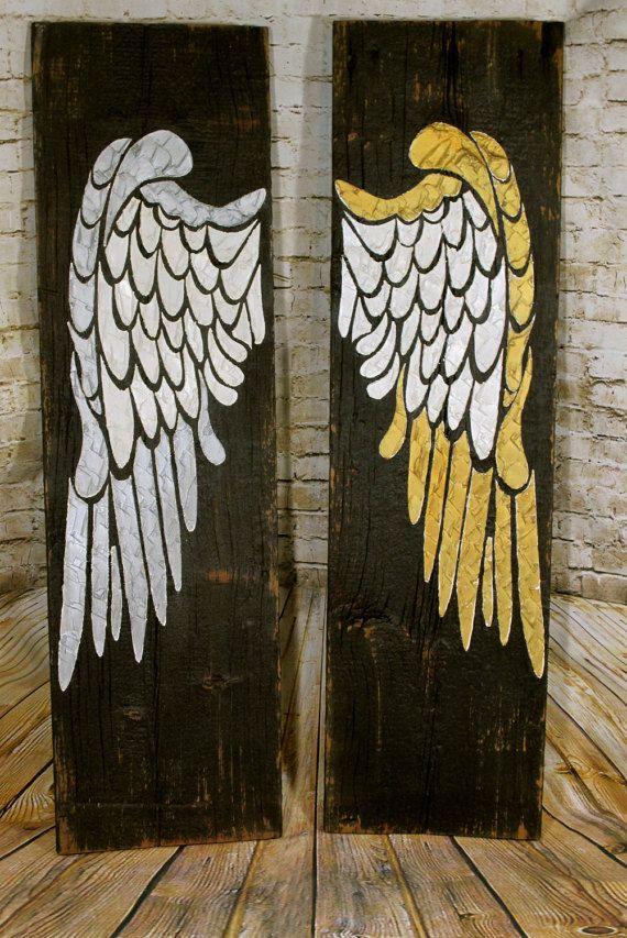 Angel Wing Wall Decor Wings Large Angel Wings Angel Wing Wall