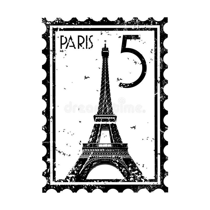 Paris Stamp Or Postmark Style Grunge Vector Illustration Of Stamp Or Postmark S Ad Postmark Stamp Paris Vintage Logo Design Vector Illustration Stamp