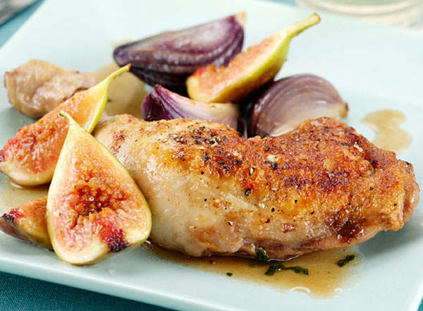 Braised Chicken with Figs, Honey and Vinegar_600_4