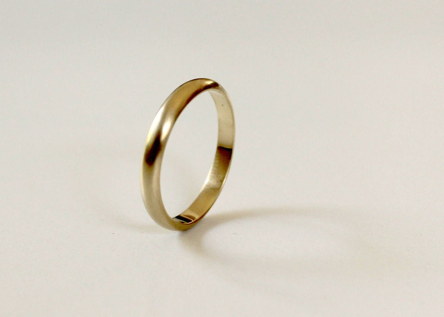 14k Gold Ring Man Wedding Men Band Women Unique Thin By Krishersjewelry On Etsy