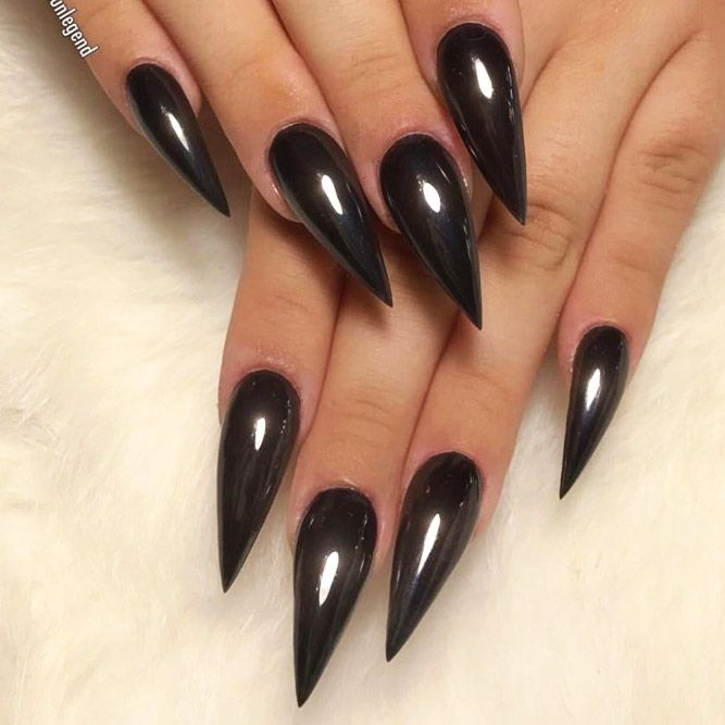 44 Stunning Designs For Stiletto Nails For A Daring New Look Long Stiletto Nails Stilletto Nails Stiletto Nails Designs