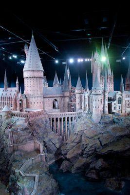 Hogwarts Castle model - Warner Bros London Studio Tour.