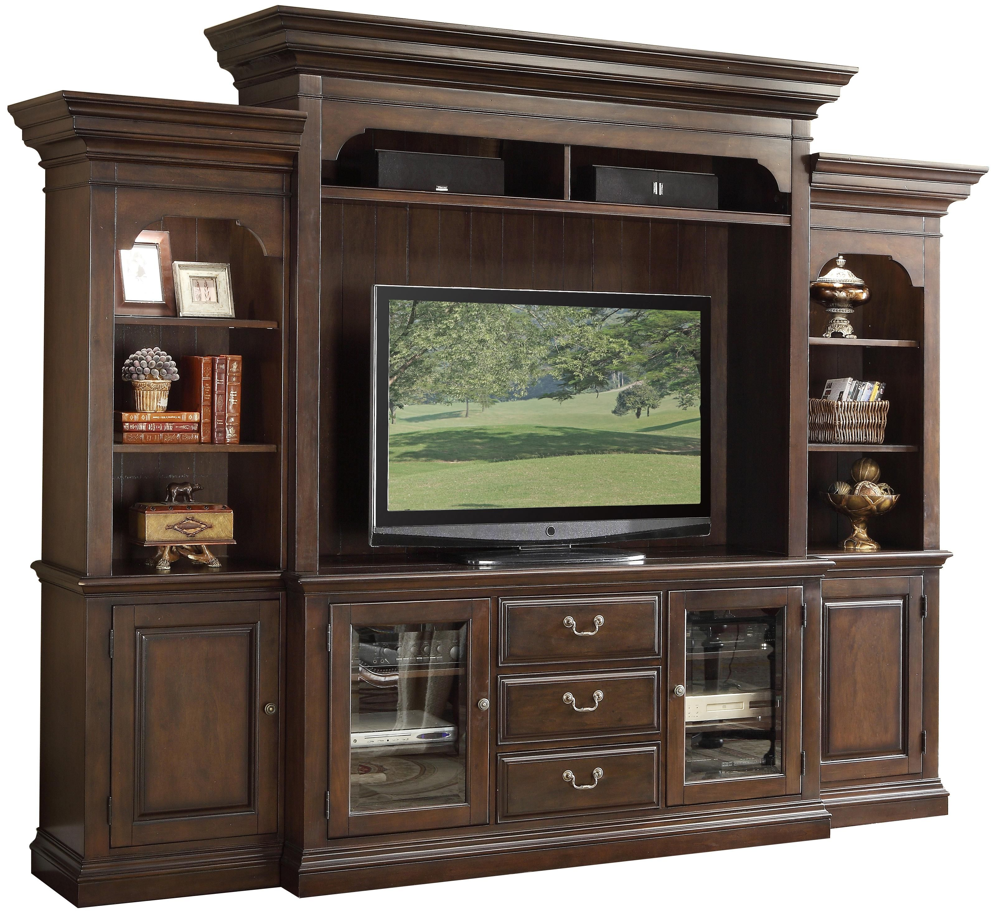 Binghamton Entertainment Wall Unit By Riverside Furniture With
